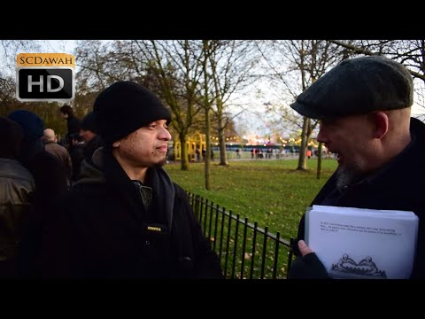 P1 - Concept of God! Mansur vs Christian | Speakers Corner | Hyde Park