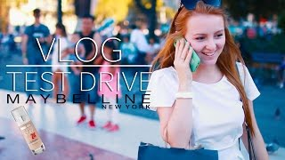 VLOG | TEST DRIVE MAYBELLINE SUPERSTAY | MAKEUPKATY