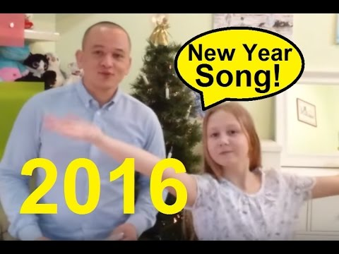 new year song lyrics by student english teacher happy new year greetings 2016 youtube