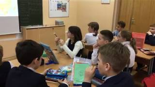 Анохин Александр.01/12/2017 Провожу урок в школе.