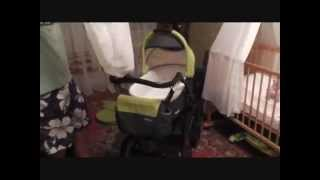 Детская коляска 2в1 Riko Satino.