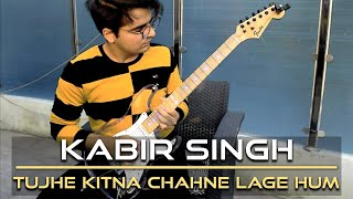 Download song Tujhe Kitna Chahne Lage | Kabir Singh | Electric Guitar Cover By Rafay Zubair (4K)