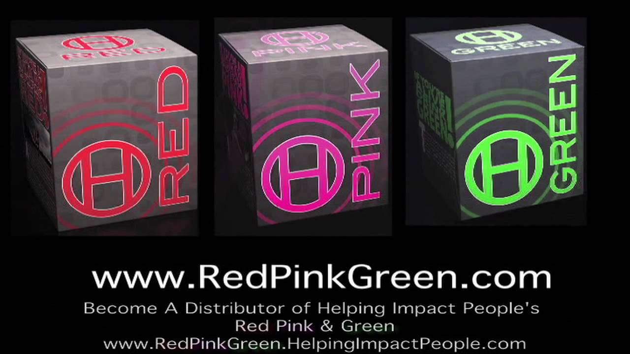 helping impact people healthy energy drink mixers red