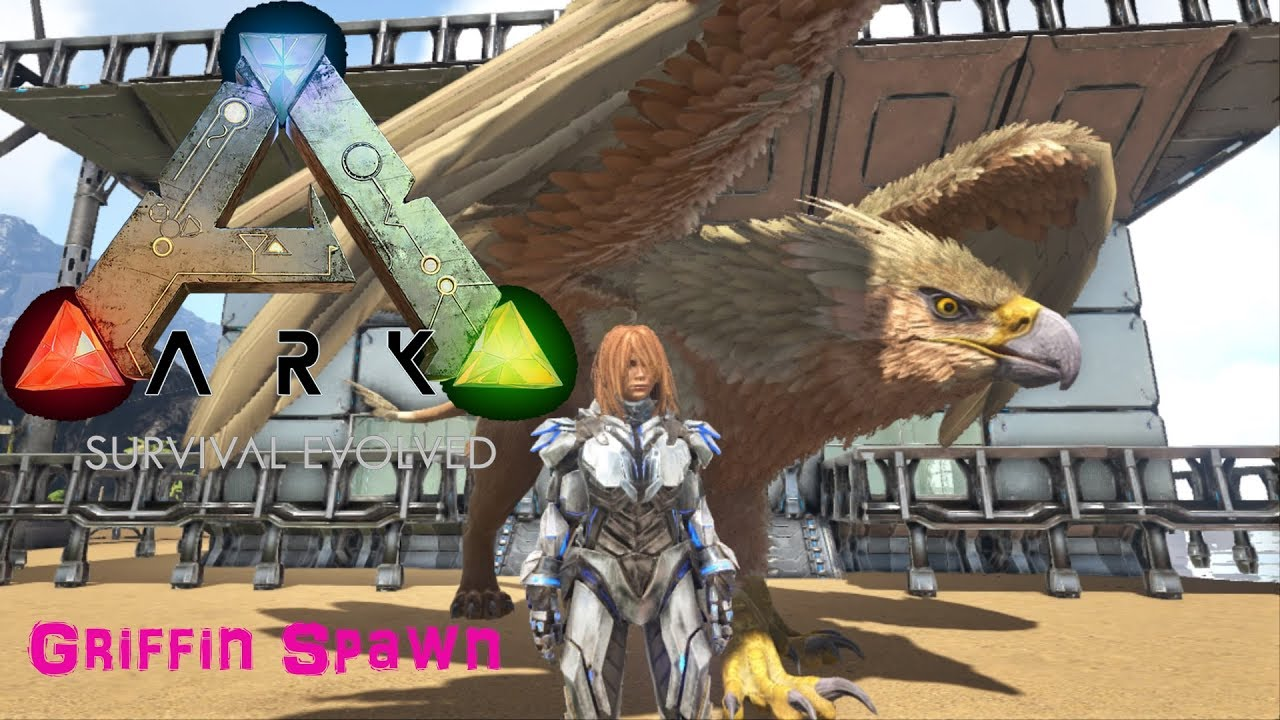 ARK | Survival Evolved | How to Spawn the Griffin PS4
