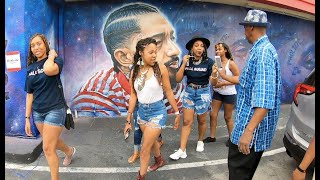 Nipsey Hussle 2 months later: fans still popping up at his store, murals still popping up in LA