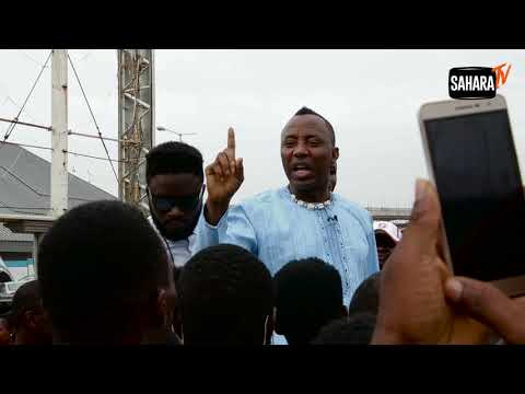 Presidential Aspirant Sowore Arrives Abuja For Town Hall Meeting