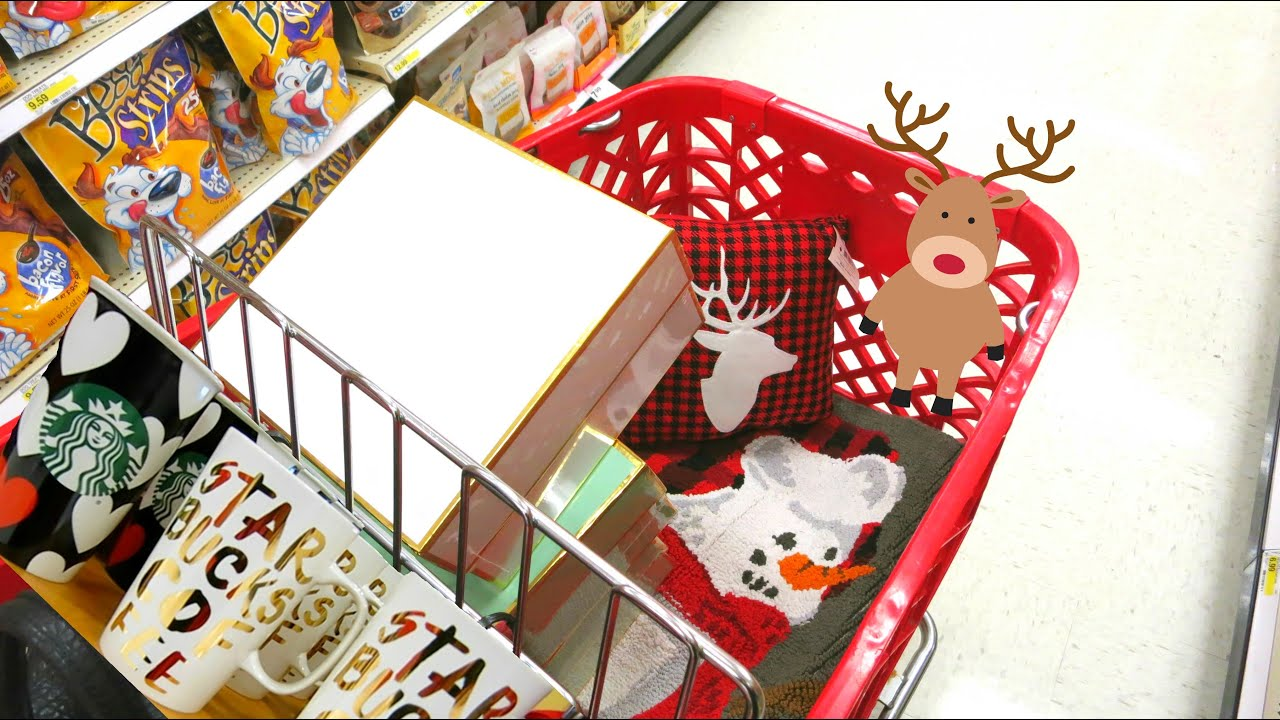 shopping for christmas decorations at target target christmas decor youtube