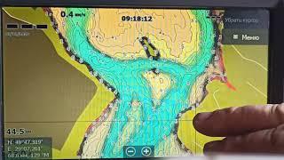Ладыжинское водохранилище карта глубин