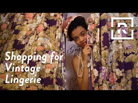 Vintage Lingerie Shopping | Just Browsing | Racked