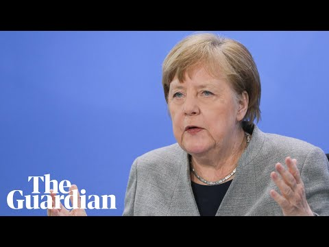 Angela Merkel uses science background in coronavirus explainer