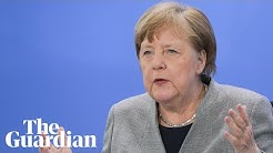 Angela Merkel uses science background in coronavirus explainer