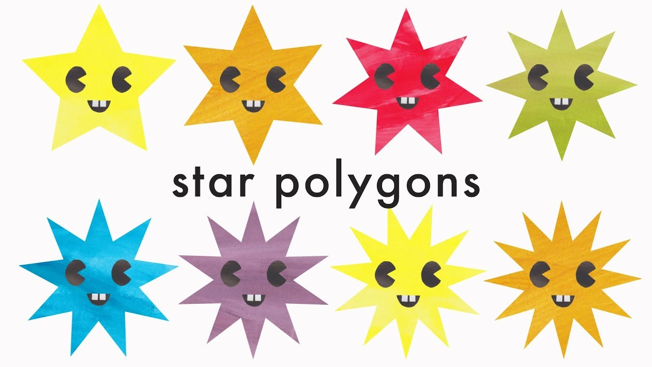 Star Polygons For Kids Up To 13