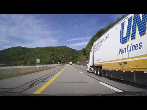 Driving from Virginia to Ohio (timelapse)