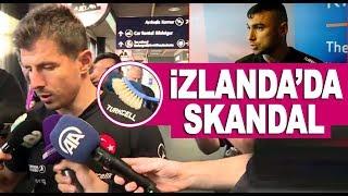Türkiye-İzlanda maçı öncesi büyük saygısızlık! 3 s