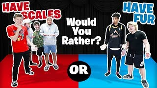 2HYPE HOUSE WOULD YOU RATHER