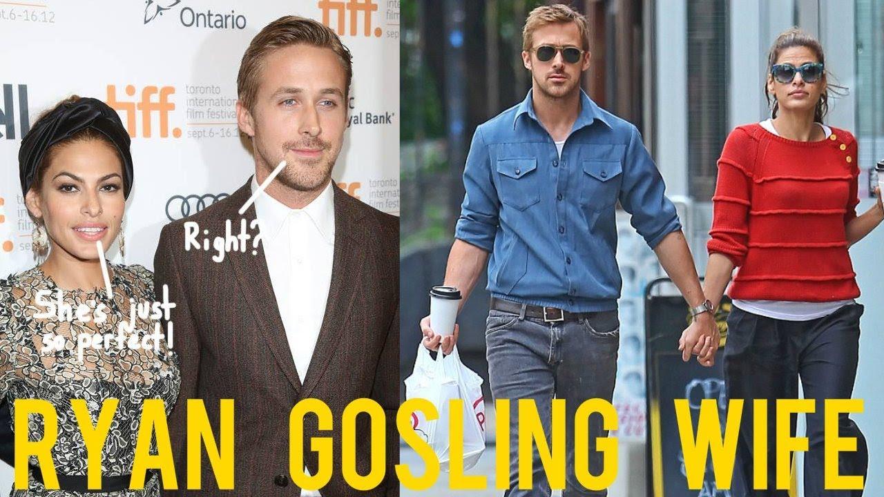 Ryan Gosling wife 2017 Eva Mendes - YouTube