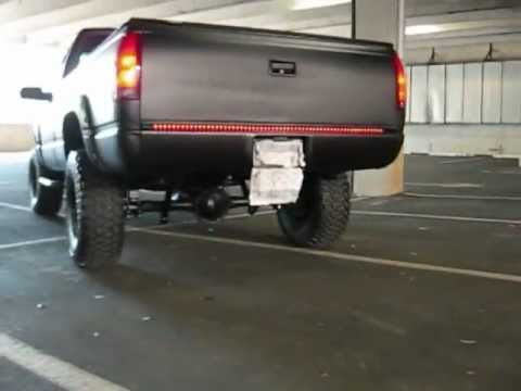 Murdered Out Chevy Truck K1500 Part 2 Youtube
