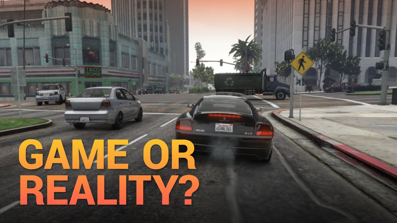 A Video Game That Looks Like Reality! 🌴