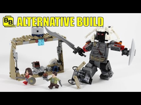 LEGO WONDER WOMAN 76075 ALTERNATIVE BUILD ARES ASSAULT