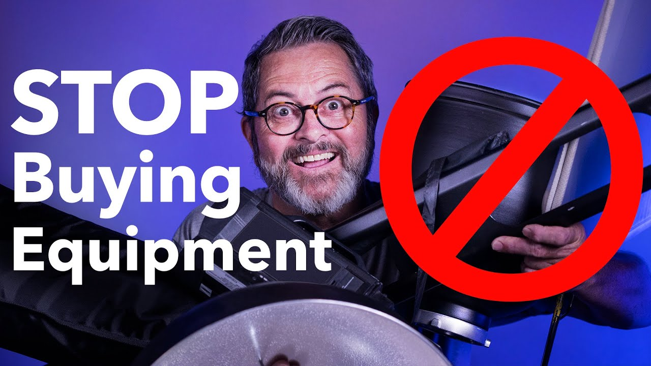 STOP BUYING EQUIPMENT! You Only Need These 6 Things To Make Money In Photography!