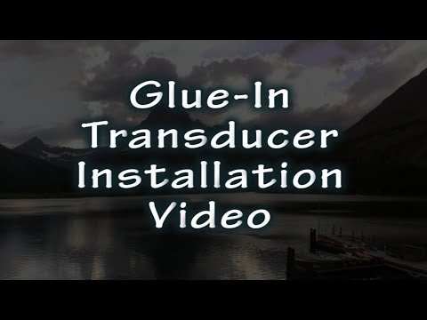 HawkEye® Video Short | Gluing A Transducer Inside The Hull Of A Boat