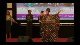 SHOLA ALLYSON LATEST!!! POWERFUL WORSHIP @ RCCG WOMEN'S CONFERENCE