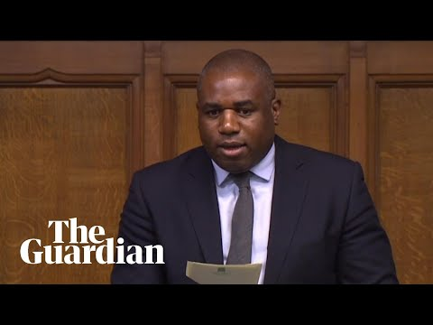David Lammy accuses government of 'pandering to far-right'