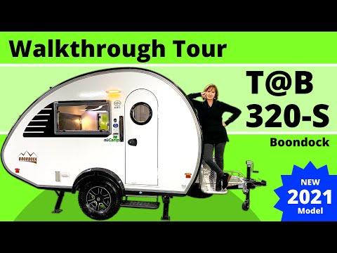 NEW TAB 320-S by nuCamp RV - 2021 Model - Walkthrough Tour