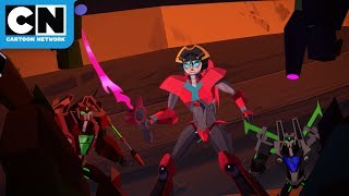 Transformers Cyberverse | Defending the Ark | Cartoon Network