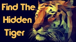 Can You Find The Hidden Tiger? 90% Will Fail!