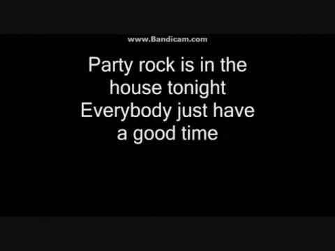 Party Rock Anthem (Lyrics)-LMFAO