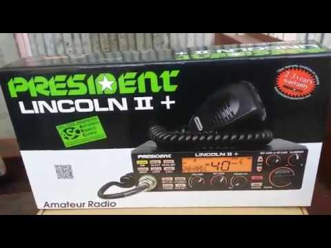 President Lincoln II+, expansión rango por SD Radio, by 30LS001