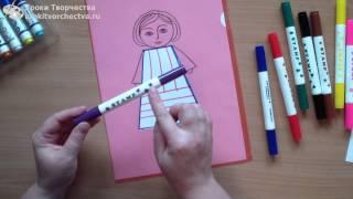 Рисование для детей 3-4 лет. Необычные фломастеры