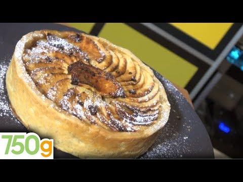 recette-de-tarte-aux-pommes-façon-grand-mère---750g