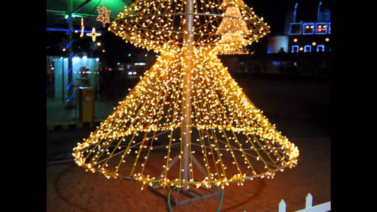 Navidad 2010 cibert youtube - Como se hacen adornos navidenos ...
