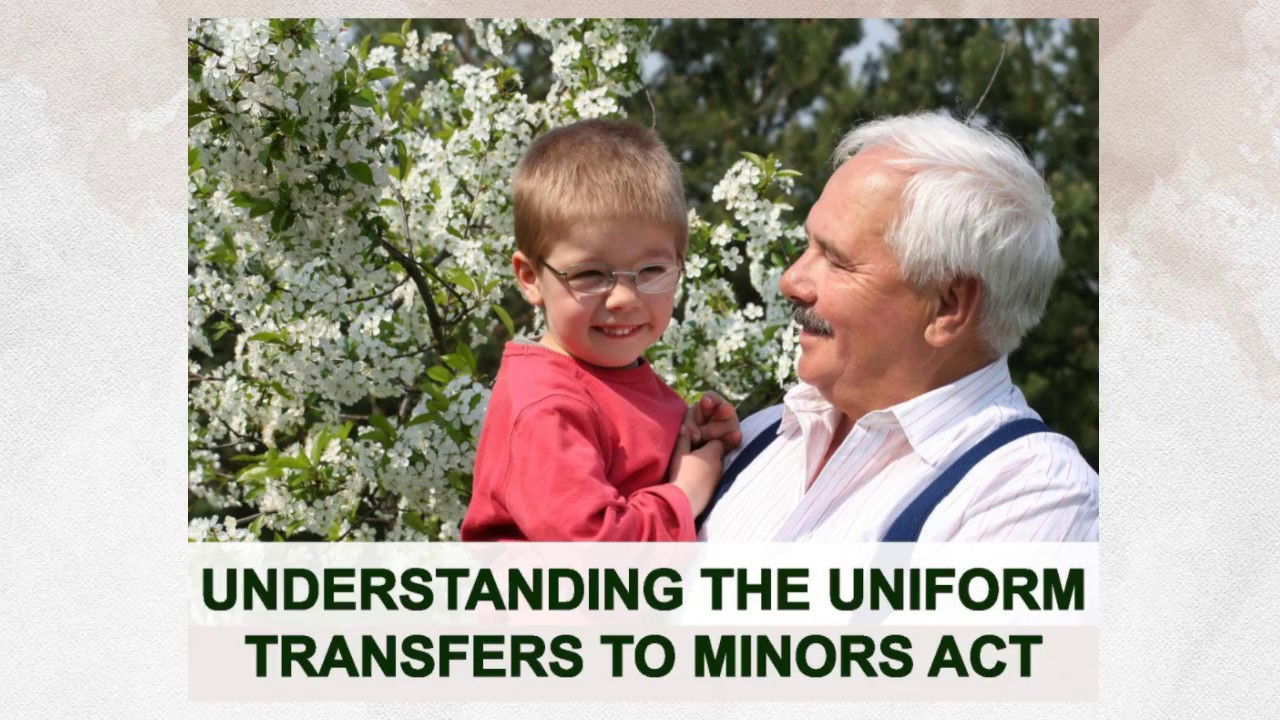 Understanding the Uniform Transfers to Minors Act - YouTube