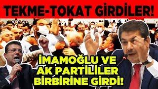 İstanbul karıştı Ak Parti ve CHP birbirine girdi Son dakika haberleri canlı yayın Emekli TV de