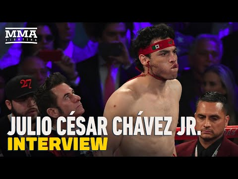 Julio Cesar Chavez Jr. 'Surprised' Anderson Silva Wanted to Fight Him, Addresses Jake Paul Boxing