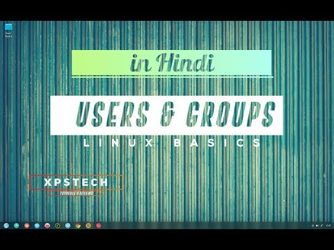 USERS AND GROUP MANAGEMENT IN LINUX  [हिंदी में ]