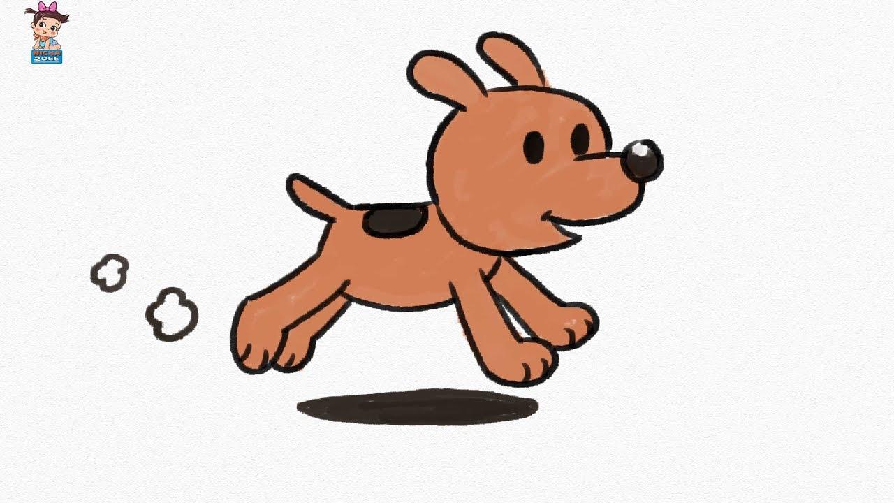 How To Make Cartoon Dog Youtube