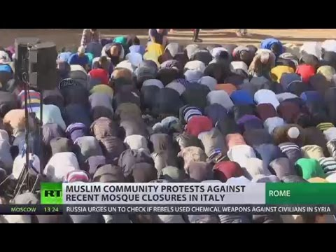 Muslims in Rome protest mosque closures, promise to pray to Allah in Vatican