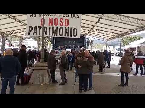 Sesión vermú del macromaratón de orquestas de Mondoñedo