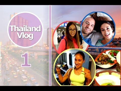 Thailand Vlog 1 - Follow me around - Food diary - Eigene Mode? - Sport im Urlaub