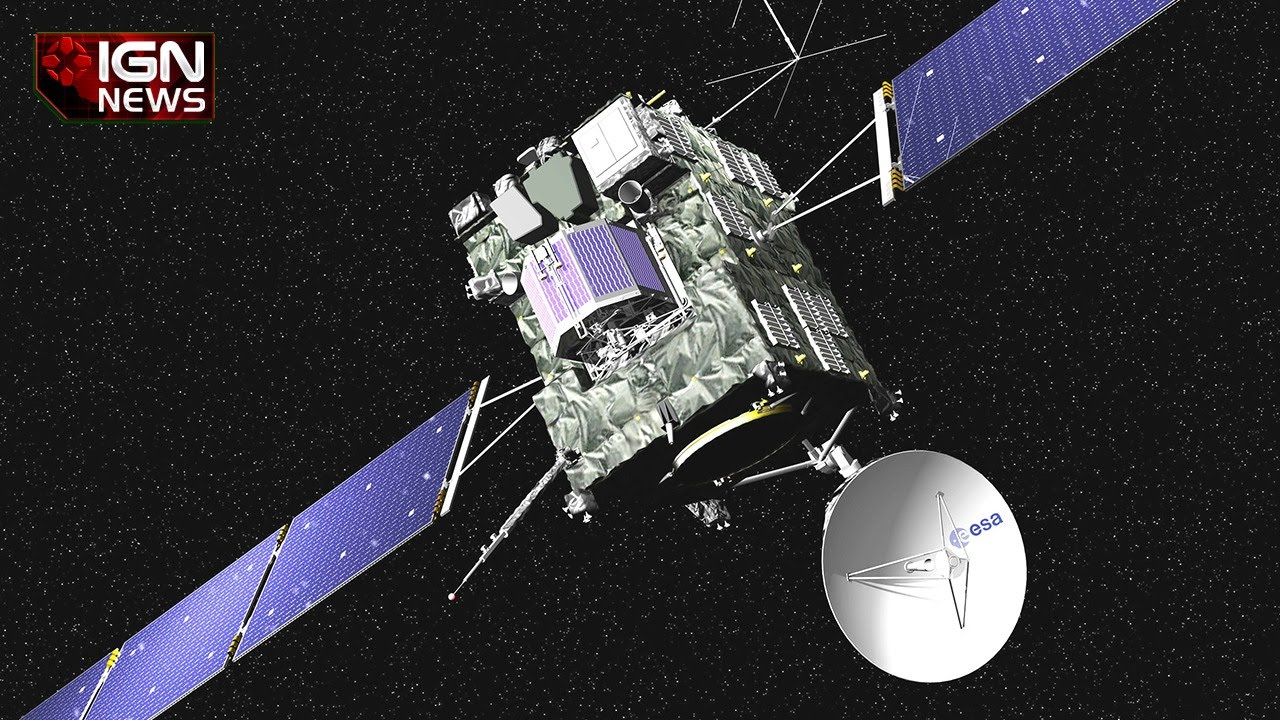 ESA Lands Rosetta Spacecraft on Comet - IGN News - YouTube