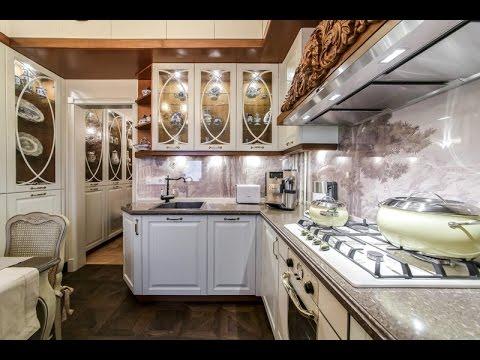 Квартирный вопрос   Уютная кухня для Светланы Немоляевой с садом и охотничьим домиком