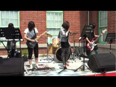 雲音聯盟 Sun water 樂團 2011 09 17雲林古蹟日虎尾布袋戲館演出 01