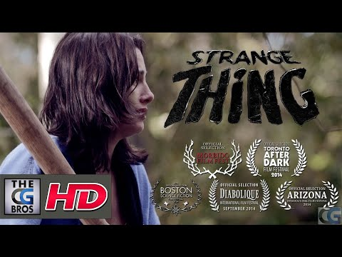 "CGI  Sci-Fi Short Film : Strange Thing"" - by Alrik Bursell"