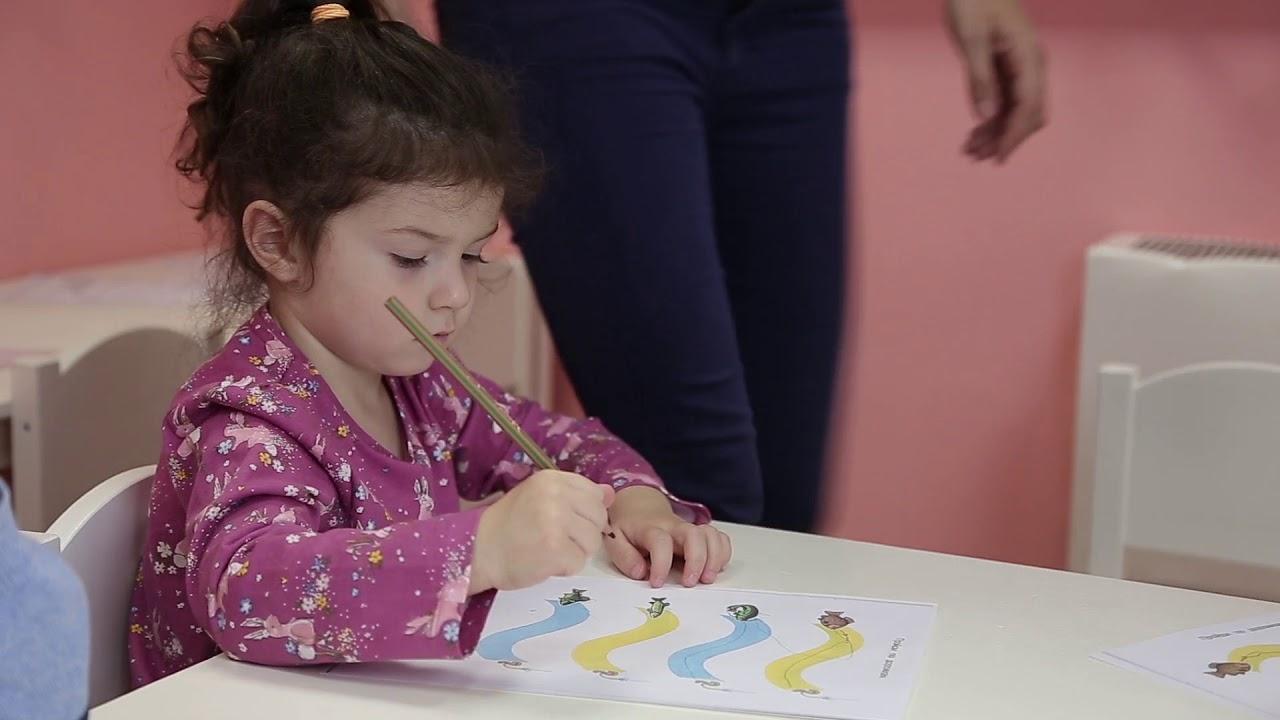 Занятие для детей 3-4 лет №9 | Онлайн детский клуб «Лас ...