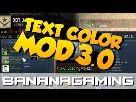 Color font mod cs go cs go steam key buy