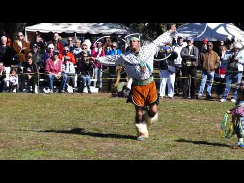 Native American Hoop Dance In 4k UHD